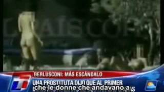 Prostituta Parla Delle Orge Di Berlusconi TG Argentino