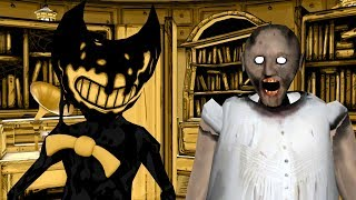 [SFM/GRANNY] HOW TO MAKE GRANNY SLENDRINA NOT SCARY FEAT  BENDY ANIMATION COMPILATION