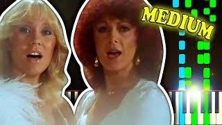 ABBA - SUPER TROUPER - Piano Tutorial