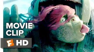 Teenage Mutant Ninja Turtles: Out of the Shadows Movie CLIP - Airplane Jump (2016) - Movie HD