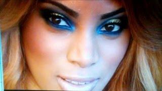 Blue Gold Smokey Eye Makeup Tutorial