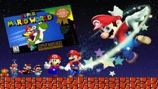 Стрим игры Super Mario World (SNES) Прохождение