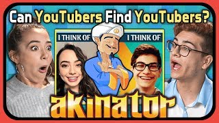 YouTubers Try To Find Themselves In Akinator (React: Gaming)