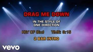 One Direction - Drag Me Down (Karaoke)