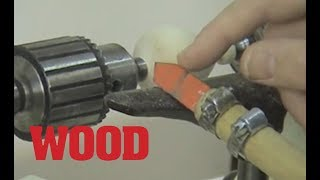 How to Use a Chatter Tool in Woodturning - WOOD magazine