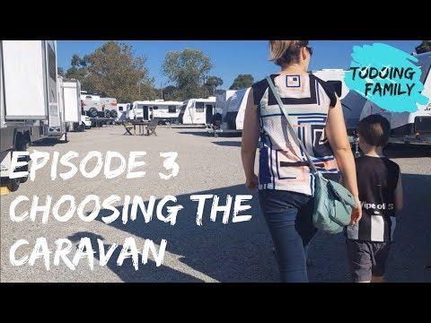 Todoing Family Episode 3: Choosing the right family caravan for a lap of Australia S01E03