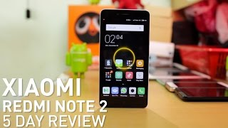 Xiaomi Redmi Note 2 5 Day Review : AWESOME DEVICE BUT?