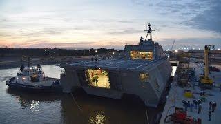 Austal USA - Littoral Combat Ship (LCS 8 update)