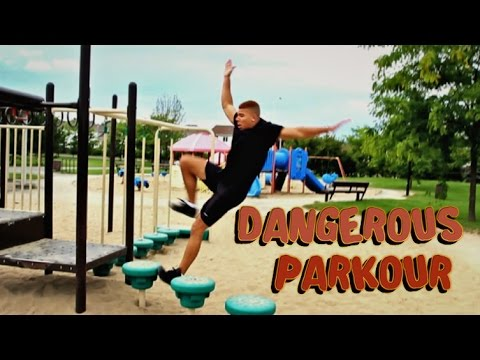 SCARY PARKOUR ACCIDENT