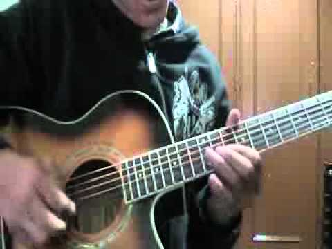 Avenged sevenfold Bat country acoustic guitar solo cover