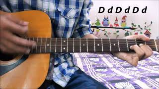 Best Songs 4 ABSOLUTE BEGINNERS on Guitar (6 songs ) Only down strokes- Sing Them Today (G Em C D )