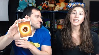 MY FIANCE OPENS POKEMON CARDS FOR HER BIRTHDAY!