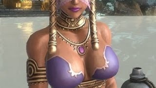 Sexy geisha hot tub scene in Asura's Wrath (Mature only 1080p)