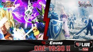 DRAGON BALL FIGHTERZ/DISSIDIA NT - le mazzate con i BDGamers !/Live Speciale