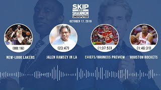 UNDISPUTED Audio Podcast (10.17.19) with Skip Bayless, Shannon Sharpe & Jenny Taft | UNDISPUTED