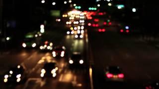 VIDEVO - Traffic Out of Focus Bokeh Background