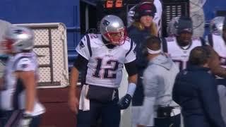 Tom Brady Argues With Josh McDaniels on the Sideline   Patriots vs. Bills   NFL