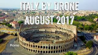 Italy by Drone in 4K - Rome, Venice, Florence, Pisa, Milan, etc.