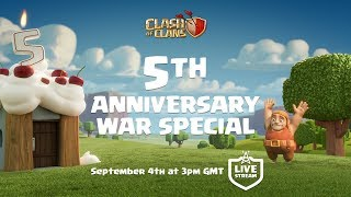 Clash of Clans - 5th Anniversary War Special!