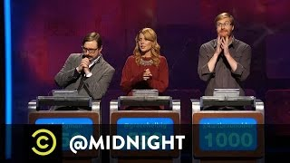 #Stoned, #Drunk or #Pregnant - An Emotional Ass Moment - @midnight with Chris Hardwick