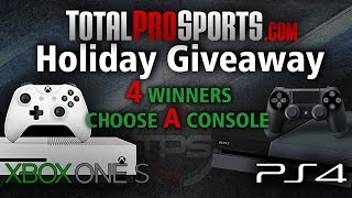 HUGE Xbox One S and PS4 Holiday Giveaway... Sign Up Now!