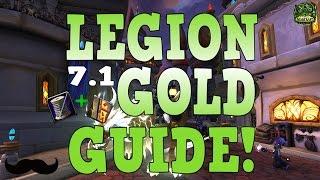 WoW Legion 7.1 - Tailoring & Enchanting Gold Guide! | Legion