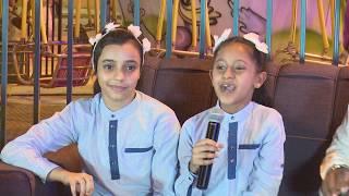 قناة اطفال ومواهب الفضائية فعاليات مهرجان عيدنا فرحة 1