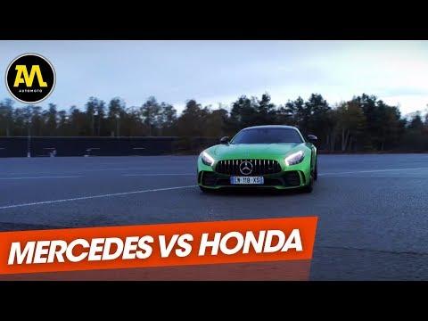 Duel Mercedes AMG GT R vs. Honda NSX