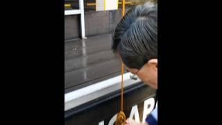 Class 4 tying rope procedure!
