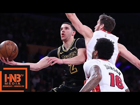 Xxx Mp4 Los Angeles Lakers Vs Miami Heat Full Game Highlights March 16 2017 18 NBA Season 3gp Sex