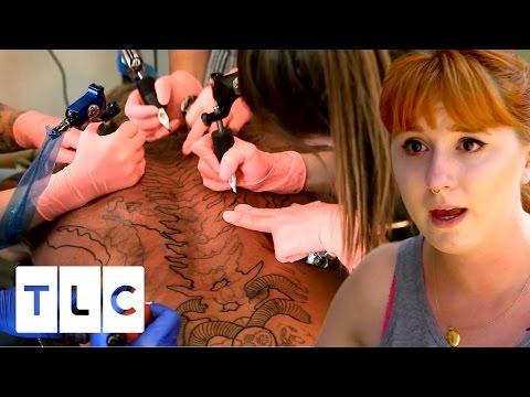 Tensions Run High During Huge Group Tattoo Tattoo Girls