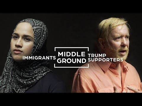 Can Trump Supporters And Immigrants See Eye To Eye