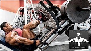 Roelly Winklaar Legs Compilation - World Bodybuilder Workout