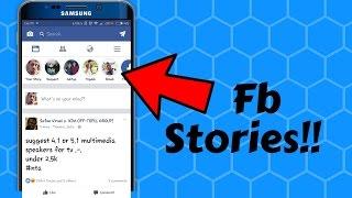 Facebook STORIES UPDATE!! What