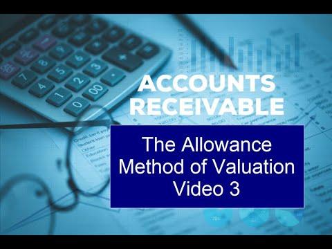 Xxx Mp4 Accounts Receivables Video 3 The Allowance Method For Valuing Accounts Receivable 3gp Sex