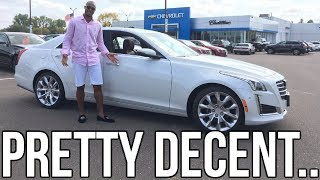 2018 Cadillac CTS Review!! From A Tall Guy's Perspective..