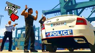 GTA 5 RP POLICE #1 : PREMIÈRE INTERVENTION DANGEREUSE