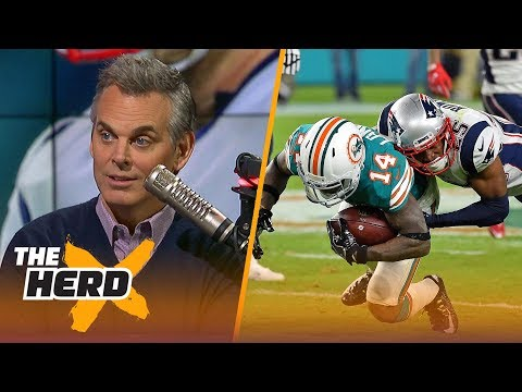 Colin Cowherd on the Dolphins beating the Patriots during Week 14 THE HERD