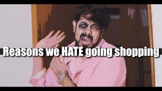 Reasons we hate going shopping | Bekaar Vines | Funny