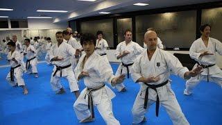 Mikio Yahara: Zuki Waza. Training in KWF Honbu Dojo 2012
