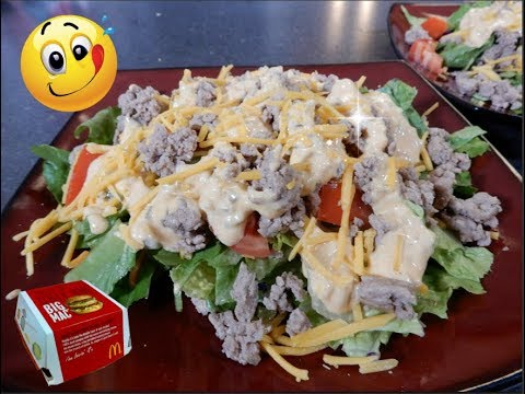 Xxx Mp4 Quick Easy Low Carb Big Mac Salad Meal Prep Sunday MeetTheNelson S 3gp Sex