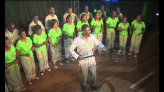 SAFARI VOICES INTERNATIONAL performing a 'Luhya Folk Song' on THE KWAYA