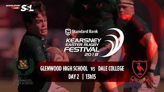 KERF - Glenwood High XV vs Dale College XV, 31 March 2018
