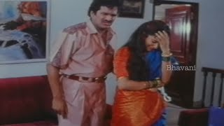 Rajendra Prasad Trying To Buy A Bra At Shop || Allarodu Movie Comedy Scenes