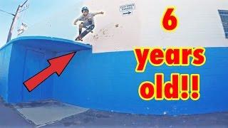 INSANE 6 YEAR OLD SKATER!