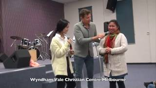 Lady from 'Karen People' of Burma healed from chronic painful face pain - John Mellor Miracles