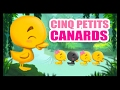 Cinq petits canards - Comptines pour apprendre les chiffres aux enfants - Titounis