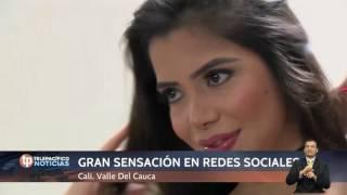 La modelo Lorena Orozco en entrevista con Óscar López Noguera   Telepacífico Noticias
