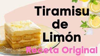Tiramisu de Limón