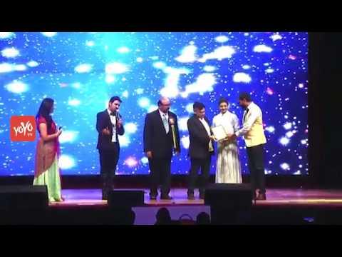 Director Krish Presenting TANA Award to Actress Kajal Agarwal | TANA Convention 2017 | YOYO TV